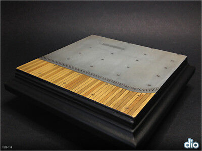 Built & Painted Diorama Base (15cm square) 1:48 Japanese Aircraft Carrier Deck