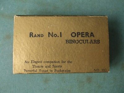 PAIR RAND No. 1 OPERA GLASSES