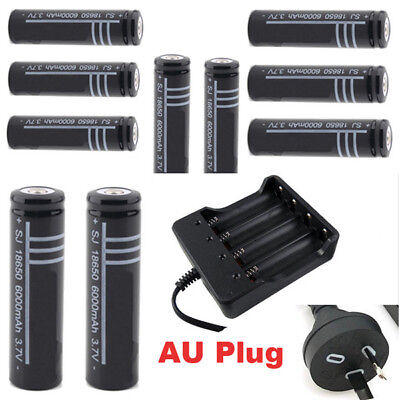 4-Slot 18650 Battery Charger Rechargeable Li-ion Batteries Choose your pack