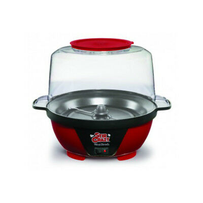 West Bend 82505 Stir Crazy Popcorn Popper, Red, 850 Watts, 6 Qt