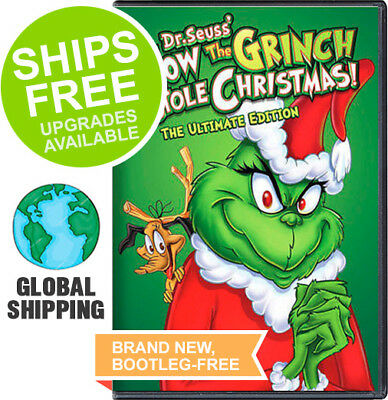 How The Grinch Stole Christmas (Ultimate Edition DVD) NEW, Dr Seuss, Original