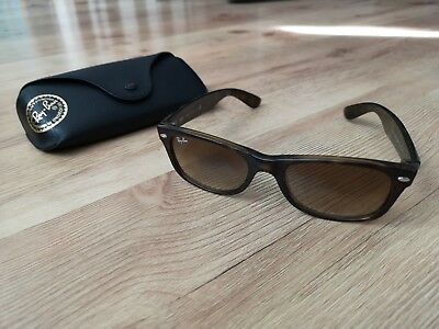 49fc9ddb7eb Ray Ban New Wayfarer Classic Tortoise Light Brown Sunglasses RB2132 710 51  52 18