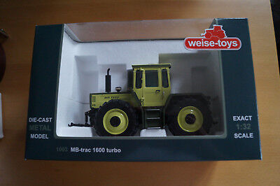Weise-toys MB trac-Modell 1600 turbo 1:32 1003