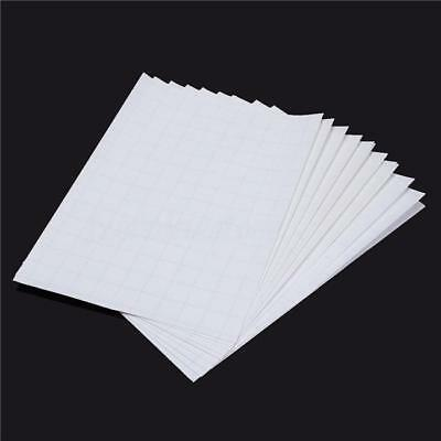 5Pcs T Shirt A4 Transfer Paper Iron On Heat Press Light Fabrics Inkjet Prints 8C