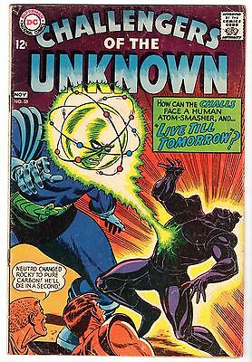 Challengers of the Unknown #58, Very Good Condition