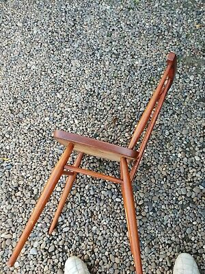 Ercol stick back chairs 2x