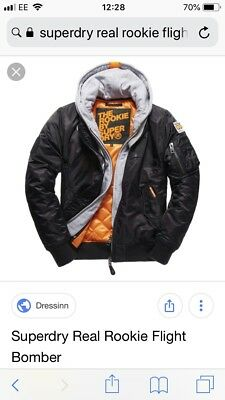 7cf9eb700 SUPERDRY REAL ROOKIE Flight Bomber Large
