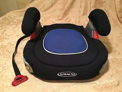 GRACO TurboBooster Backless Booster Car Seat, Child Safety Seat (Model 8491RGB)