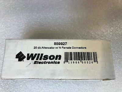 Wilson 859927 20 dB Attenuator  never open box