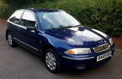 1997 Rover 220 2.0SDi Turbo Diesel Amazing Low Miles One owner since 1998