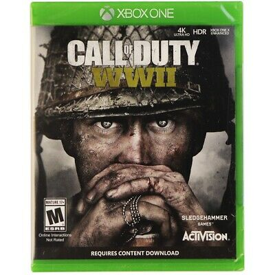 Sledgehammer Call of Duty: WWII Standard Edition for the Xbox One