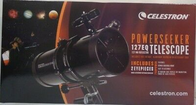 Celestron PowerSeeker 127EQ CSN21049 BOX DAMAGE!! NO RESERVE
