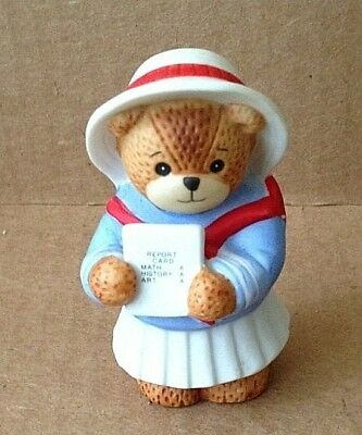 Enesco Lucy Rigg LUCY & ME Bear Report Card Rare No Year