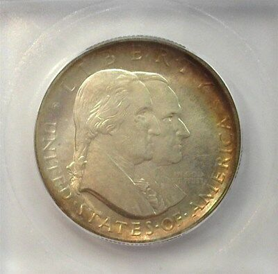 1926 Sesquiecentenial Silver 50 Cents Icg Ms-65 Lists For $1250 Rainbow!