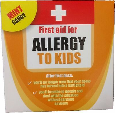 Allergy to Kids Mint Candy