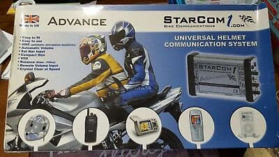 Starcom 1.   2 rider motorcycle communication system