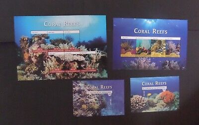 St Vincent 2015  Coral Reefs fish MNH UM unmounted mint
