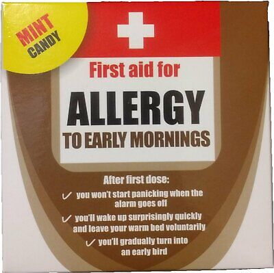 Allergy to Early Mornings Mint Candy