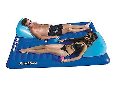 "Solstice by International Leisure Products Face to Face Float 75"" x 66"" x 16"""