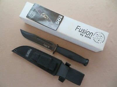 SOG Fusion Fixation Bowie Knife