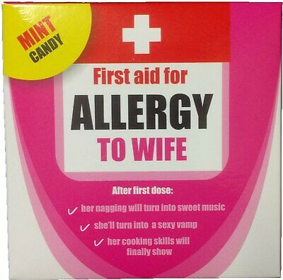 Allergy to Wife Mint Candy