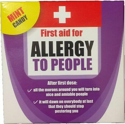 Allergy to People Mint Candy