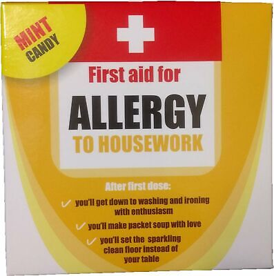 Allergy to Housework Mint Candy