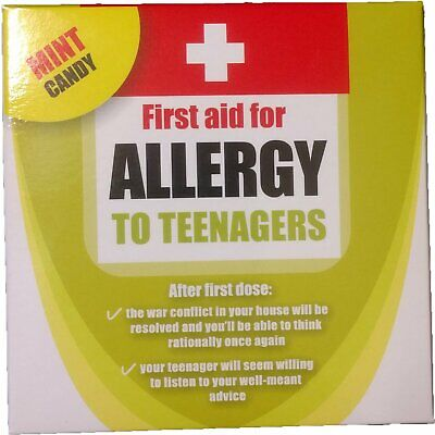 Allergy to Teenagers Mint Candy