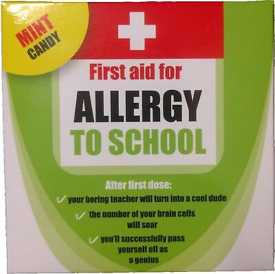 Allergy to School Mint Candy