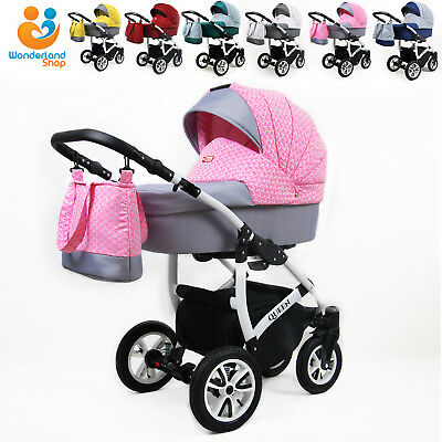 Baby Pram Buggy From Birth Pushchair Car Seat Carrycot Travel System Newborns
