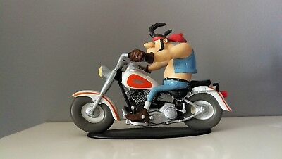 FIGURINE COLLECTION JOE BAR TEAM N°3 HERCULE BUTTER HARLEY DAVIDSON 1340
