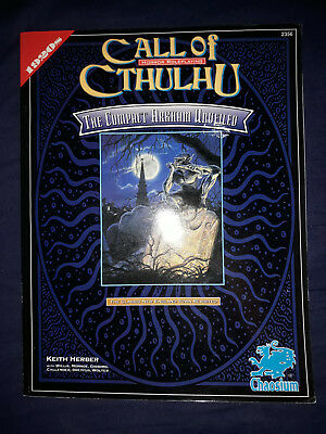 Chaosium Call of Cthulhu  The Compact Arkham Unveiled