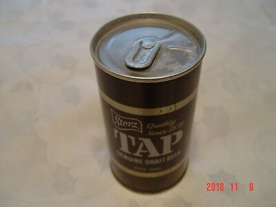 Storz Tap SS BO Zip Tab 12oz beer can Storz Brewing Co., Omaha, NEB