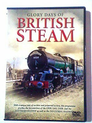 Glory Days of British Steam - DVD  BUVG The Cheap Fast Free Post