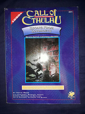 Chaosium Call of Cthulhu  Escape from Innsmouth