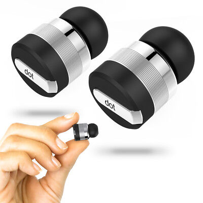 True Wireless Bluetooth Earbuds w/ Mic & Noise Reduction Technology - Dot Stereo