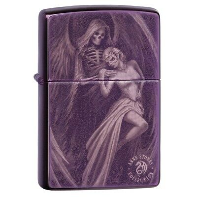 Zippo 29717, Anne Stokes-Gothic Design, Purple Abyss Lighter