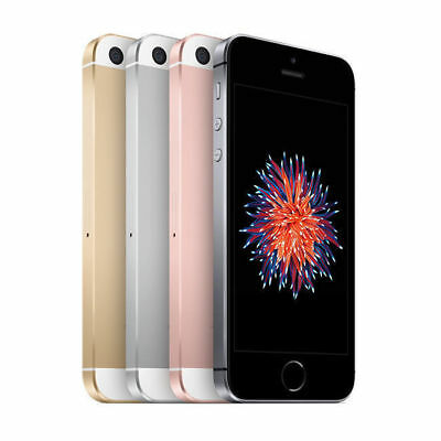 "Apple iPhone SE 4"" Display 16 32 64 128GB 4G LTE GSM Unlocked Smartphone MRF"