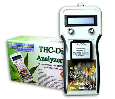 THC Tester - Grow Cannabis Hanf Marihuana Hemp Messgerät THC Analyzer V 9.22