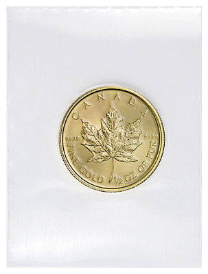 2019 Canada 1/2 oz Gold Maple Leaf $20 Coin GEM BU Mint Sealed SKU55545