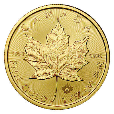 2019 Canada 1 oz Gold Maple Leaf $50 Coin GEM BU SKU55546