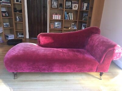 Red Chaisse Longue From Sofa Workshop