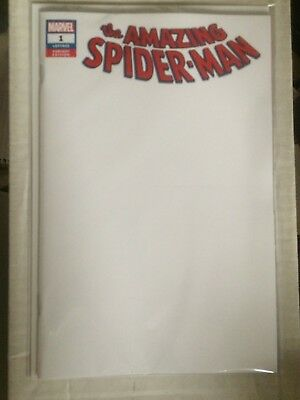 Amazing Spider-Man #1 (2018) Blank Variant NM
