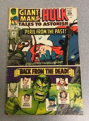 Tales to Astonish # 68- Giant Man and the Incredible Hulk