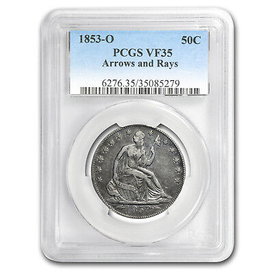 1853-O Liberty Seated Half Dollar VF-35 PCGS - SKU#177884
