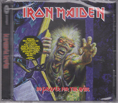 IRON MAIDEN 1990 CD - No Prayer For The Dying (Remastered 1998) Saxon/Samson NEW