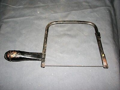 "Vintage Unique Pierced All Metal Coping Saw 5 1/2"" Throat Depth"