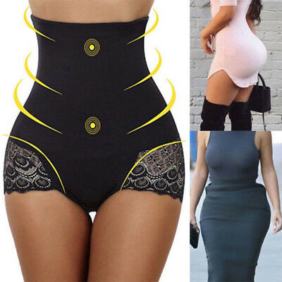 Body Shaper Control Tummy Slim Panty Corset High Waist Shapewear Underwear Women