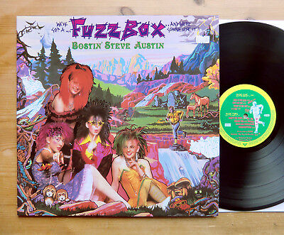 We've Got A Fuzzbox And We're Gonna Use It - Bostin' ... LP 1986 UK + OIS Mint
