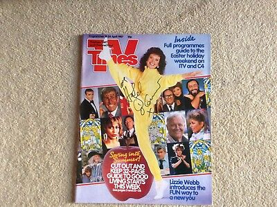 TV Times - Hazel O' Connor - signed